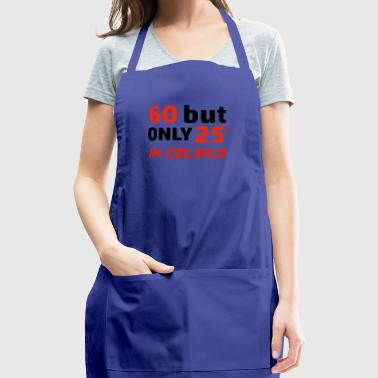 Funny 60 year old designs - Adjustable Apron