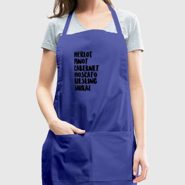 Wine On Wine - Adjustable Apron