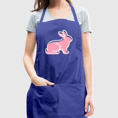 A Sitting Rabbit - Adjustable Apron