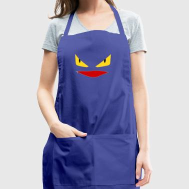Toothless Face Zipper Mouth - Adjustable Apron