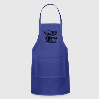 Guns Have Two Enemies Rust And Politicians T Shirt - Adjustable Apron