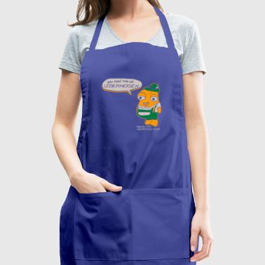 You Had Me At Lederhosen Berlin HS German Club - Adjustable Apron