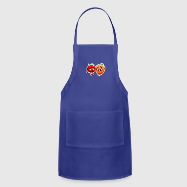 pepper and tomato sad - Adjustable Apron