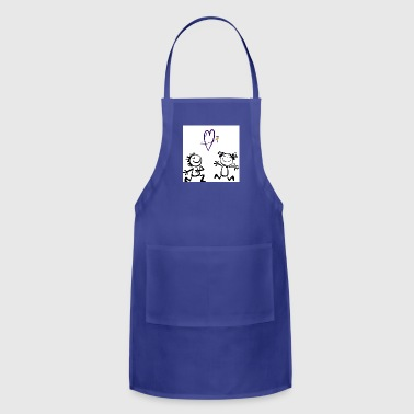 Cute mugs - Adjustable Apron