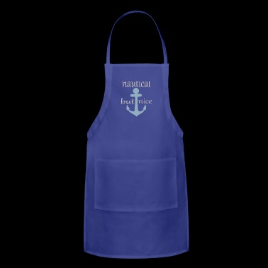 nautical but nice - Adjustable Apron