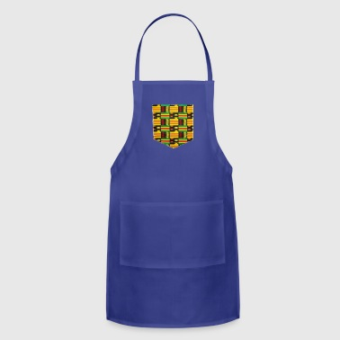 African Print Pocket - Adjustable Apron