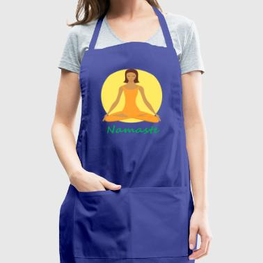 yoga namaste chanting - Adjustable Apron