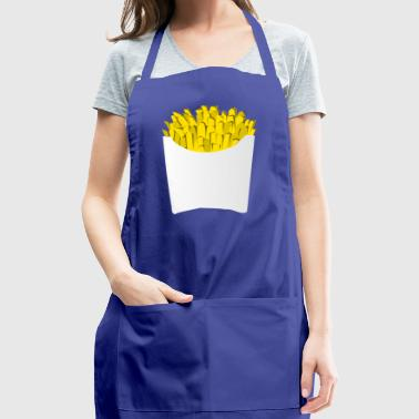 french fries pommes frites fastfood fast food14 - Adjustable Apron