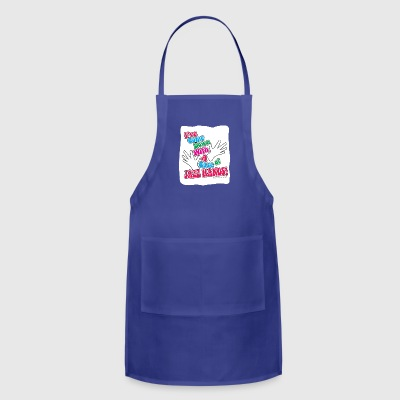 A Case of Jazz Hands! - Adjustable Apron