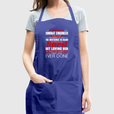 Loving A Combat Engineer Is Not Hard Combat Engine - Adjustable Apron