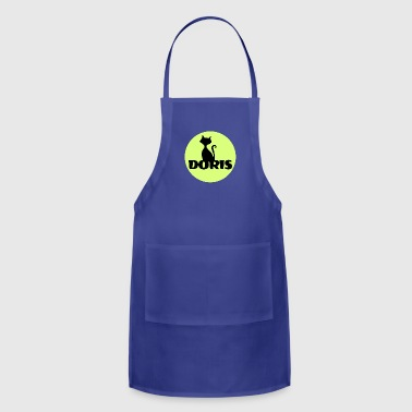 Doris first name - Adjustable Apron