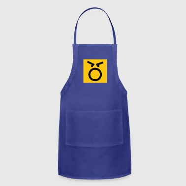 Mad Face - Adjustable Apron