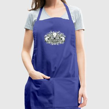 Vanity skull - Adjustable Apron