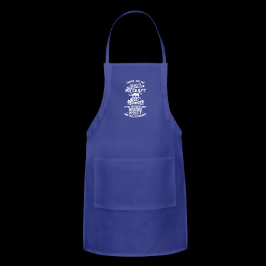 Master of crafts - Sheet metal worker - Shirt gift - Adjustable Apron