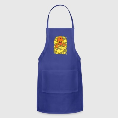 fly dinosaurs - Adjustable Apron