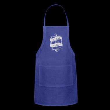 TO READ OR NOT TO READ - Adjustable Apron