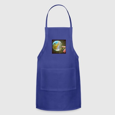 Bubble popping - Adjustable Apron