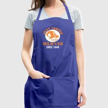 Halloween Great Pumpkin Believer Since 1948 - Adjustable Apron