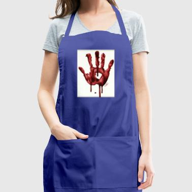 Bloody Hand - Adjustable Apron