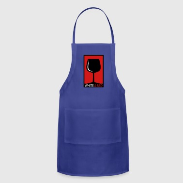wine glass - Adjustable Apron