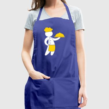 A Gourmet Chef Serves Guests - Adjustable Apron