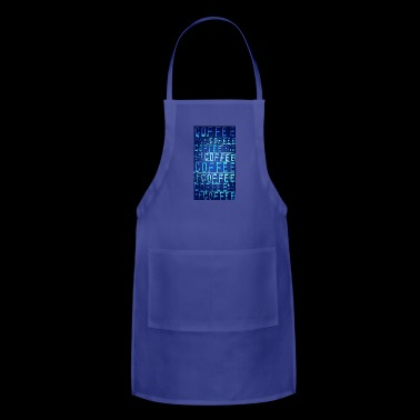 coffee sign - Adjustable Apron