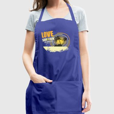 Love Sun Fun Summertime - Adjustable Apron
