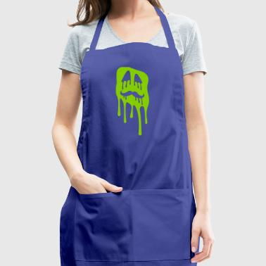 Ugly slime face - Adjustable Apron