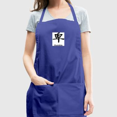 kanji humble - Adjustable Apron