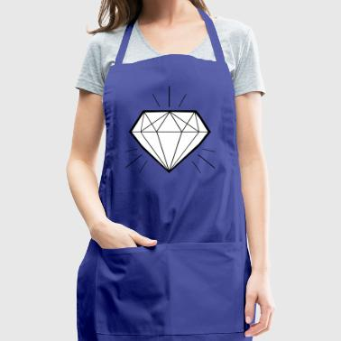 Diamond bling bling - swaggy - Adjustable Apron