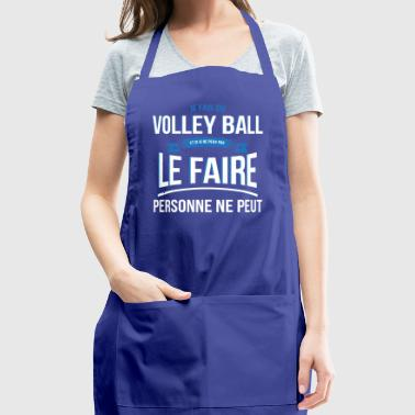 Volley ball nobody can gift - Adjustable Apron