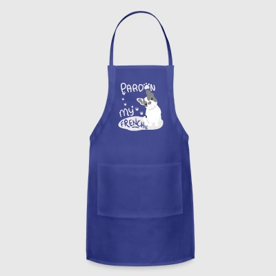 French Bulldog english Breeder owner cool fun gift - Adjustable Apron