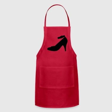 Vector highheels Silhouette - Adjustable Apron