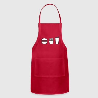 happy meal. - Adjustable Apron