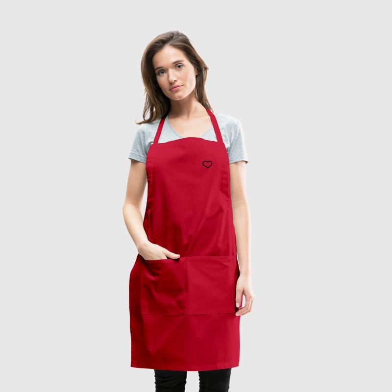 My Valentine: Pixel Heart - Adjustable Apron