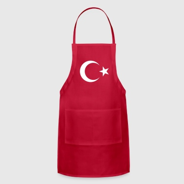 Istanbul Turkish Flag - Adjustable Apron