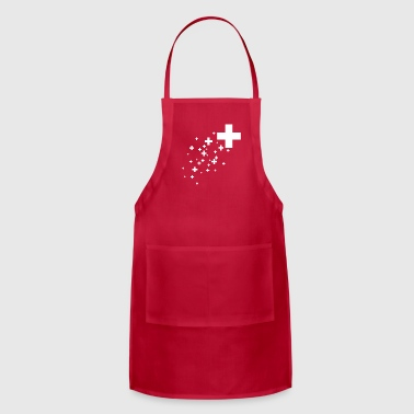 Swiss Cross - Adjustable Apron