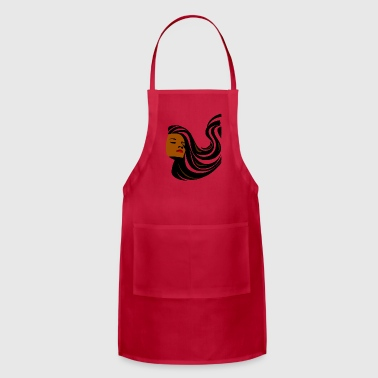 stylish woman - Adjustable Apron