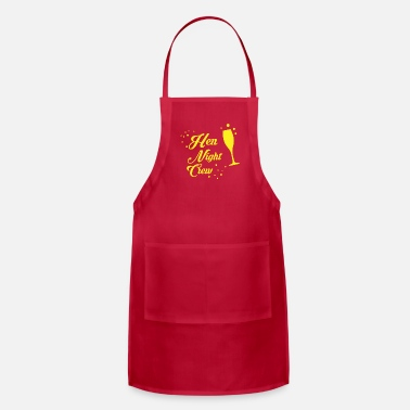 Hen Night Hen Night Crew - Adjustable Apron