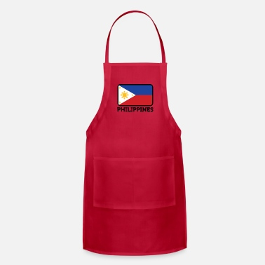 Philippines National Flag Of The Philippines - Adjustable Apron