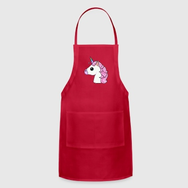 Funny Unicorn Pink Unicorn - Adjustable Apron