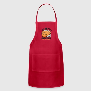 Amber Hand In Amber - Adjustable Apron