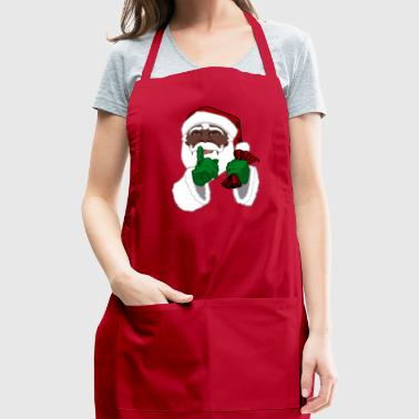 African American Santa Black Santa Clause - Adjustable Apron