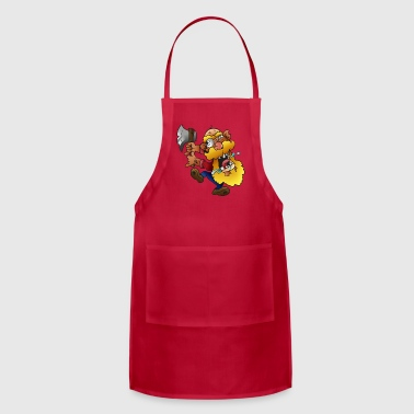 Crazy lumberjack - Adjustable Apron