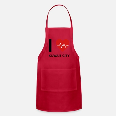 Kuwait I Love Kuwait City - Apron