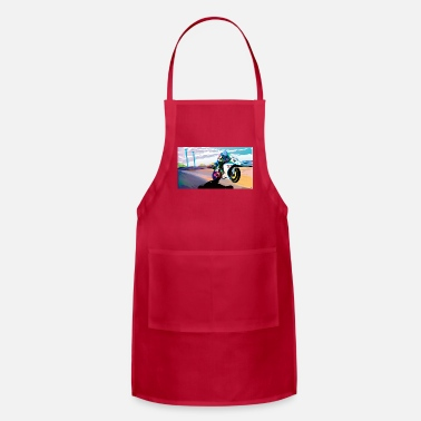 Motion MOTORCYCLE IN MOTION - Adjustable Apron