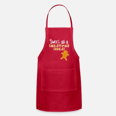 Magic The Gathering Christmas Design - Sweet As A Christmas Cookie! - Adjustable Apron