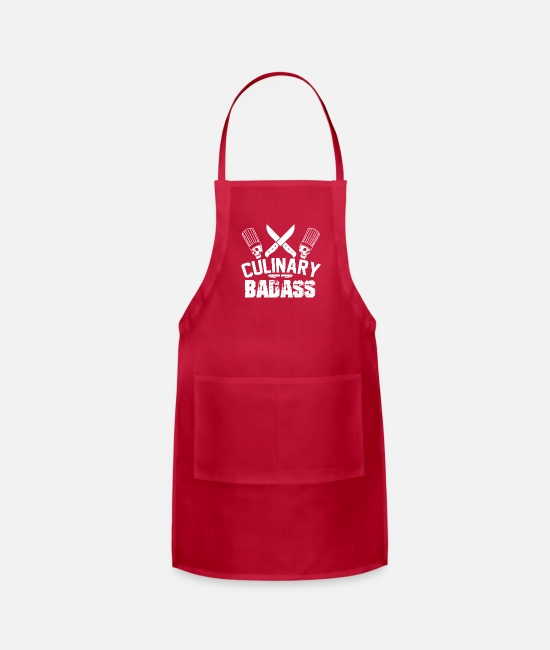BBQ Aprons - cooking - Apron red