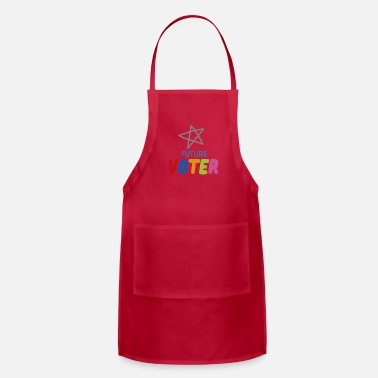 Anti Future Voter, My Generation is watching, Kids Vote - Apron