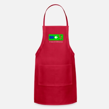 Ironic Funny Statement Brexit Second Chance Referendum - Adjustable Apron